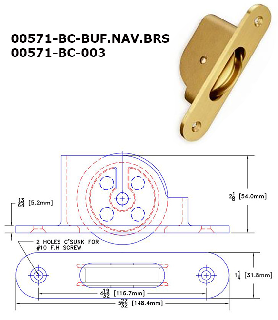 00571BC - Sash Pulleys, Weights & Accessories