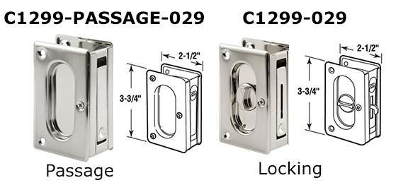 C1299   Pocket Door Accessories