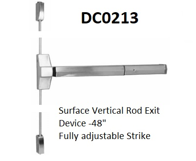 Exit Device, Surface Vertical Rod