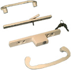 H0095 - Patio Glass Door Handles (Mortise Type)