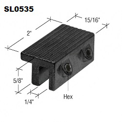SL0535 - Security Window Hardware