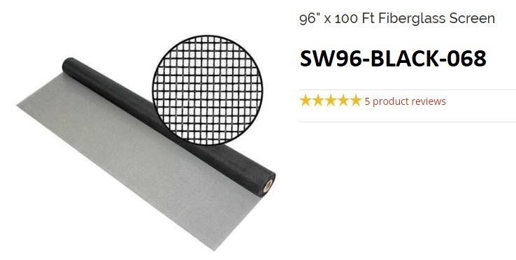SW96 - Screen Wire