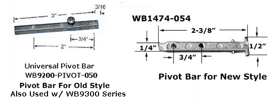 WB9200BAR - Constant Force Balance, Pivot Bar